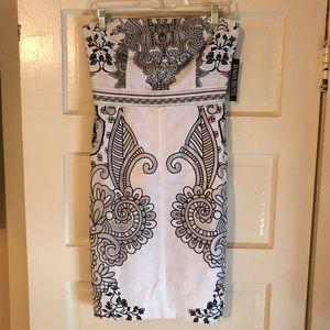 NY&Co strapless dress